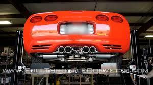 mid america designs corvette c5 corvette exhaust install mid america quadrapower