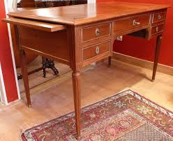 bureau style louis xvi desk bureau plat style louis xvi 5 drawers violon d ingres