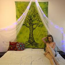 green tie dye tree of life tapestry u2013 kraftdirect inc