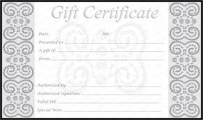 make your own gift voucher template templates for editable and