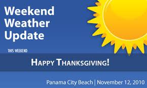 weekend weather thanksgiving 2010 panama city florida