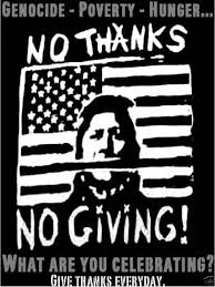 american no thanks no thanksgiving t shirt wish list for