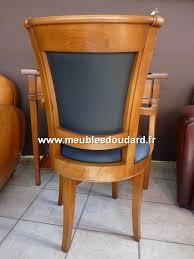 bureau en merisier fauteuil de bureau tournant en merisier réf 107
