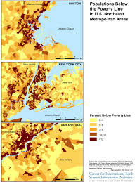 Map Showing New York by Mapping Vulnerable Populations To Support Disaster Preparedness