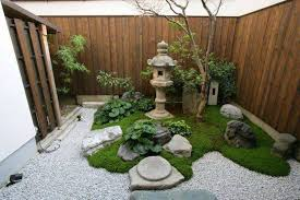 small japanese garden small japanese gardens with ornament and solar post lighting and