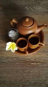 Teh Poci cafe la vida teh poci traditional cirebonese leaf tea brew