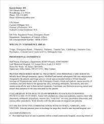 Telemetry Nurse Resume Sample by Federal Resume Template U2013 10 Free Samples Examples Format