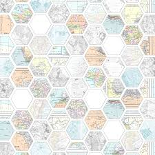 map paper free map hexagon papers mel stz