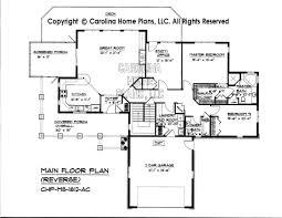 reverse ranch house plans ms 1812 reverse main floor plan jay pinterest open house plans