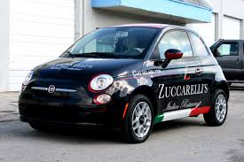 lifted bmw fiat 500 vinyl wrap west palm beach florida