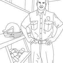 firemen fighting tree fire coloring pages hellokids