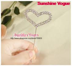 aliexpress com buy cake accessory flat heart shape rhinestone