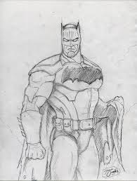 batman sketch by big d artiz on deviantart