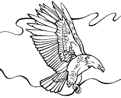 bald eagle coloring free printable coloring pages