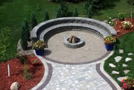 Fire Pit Bq - circular patio kits b u0026q home design ideas