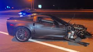 c6 corvette c6 corvette rollover crash badly injures two in ohio