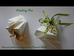 Origami Wedding Cake - origami wedding box designed by riccardo colletto