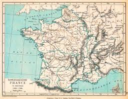 Detailed Map Of France by Map Of France 1769 1789