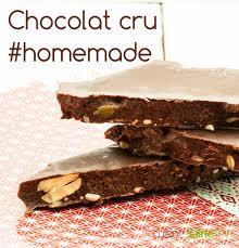recette cuisine crue faire du chocolat cru maison cuisine saine sans gluten sans lait
