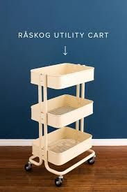 tassel lovers this bar cart ikea hack is your next diy brit co