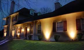 front of house lighting positions landscape lighting safety curb appeal energy efficiency