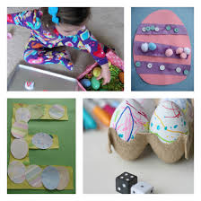 homemade easter decorations for the home simple easter crafts no time for flash cards