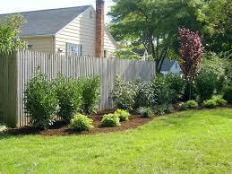 Backyard Fence Styles by Design For Backyard Fence Ideas 10375