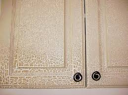 Crackle Paint Kitchen Cabinets Cabinet Finsihes
