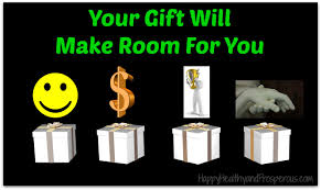 bible quote gifts talents your gift will make room for you happy healthy u0026 prosperous