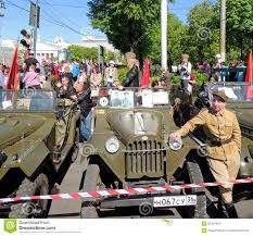 gaz 67 jeep gaz 67 and man in the uniform of polish army of wwii stock