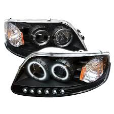 2002 ford f150 tail lights spyder auto ford f150 97 03 expedition 97 02 1pc projector