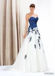 robe de mari e bicolore robe bicolore avec buste drapé en taffetas et jupe de tulle