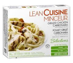 liant cuisine lean cuisine selection grilled chicken carbonara walmart canada