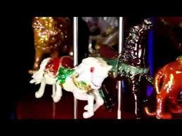 Mr Christmas Ornament - 79789 mr christmas 1939 world u0027s fair carousel youtube