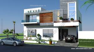 3d Home Design 5 Marla by 12 Pictures Front Look Of Houses New In Fresh 10 Marla Modern Home