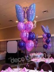 butterfly centerpieces balloon centerpieces my deco balloon