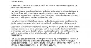 cover letter for security officer 2014 security guards companies