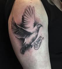 cross shoulder tattoo 110 dove tattoo designs ideas design trends premium psd