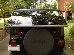 jeep wrangler back hard top rear window weather stripping jeep wrangler forum
