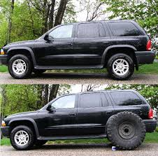 05 dodge durango lift kit i think my tires are big irok s no lift durango dakota