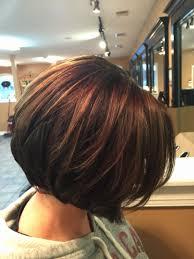 highlights for inverted bob short haircuts inverted bob fresh inverted bob chocolate brown with