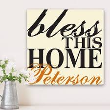 blessing for the home bless this home wall wayfair