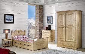 ameublement chambre chambre avec lit 90 armoire deux portes chevet et meuble à tiroirs
