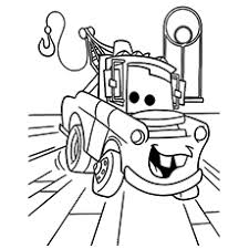 10 free printable disney cars coloring pages
