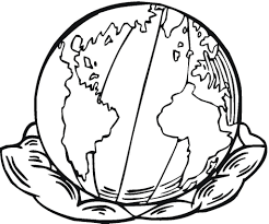 earth coloring pages pixelpictart com