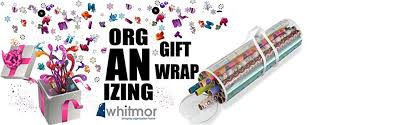clear gift wrap whitmor clear gift wrap organizer on sale 6 99 holds up to 25