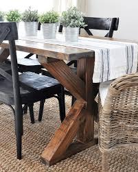 x leg dining table 20 diy x leg furniture project ideas anika s diy life