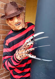 Halloween Freddy Krueger Costume Robot Monsters Party Church Dallas Tx Oct 16 2016