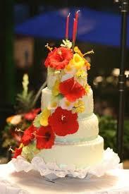 hawaiian themed wedding cake cakecentral com