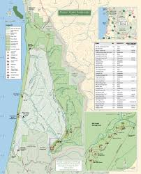 State Park Map by Prairie Creek Redwoods State Park Maplets
